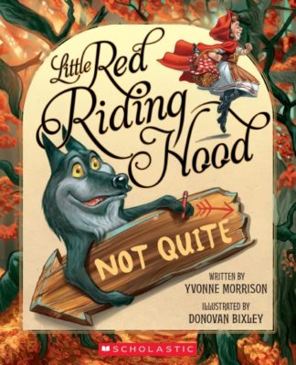 Cover of Little Red Riding Hood (Not Quite)