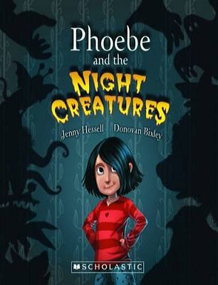 Cover of Phoebe and the Night Creatures