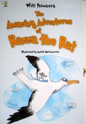 Cover of The Amazing Adventures of Razza the Rat