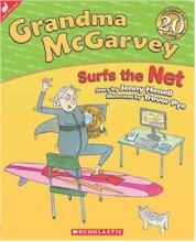 Cover of Grandma McGarvey Surfs the Net