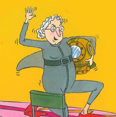 Cover of Grandma McGarvey Surfs the Net