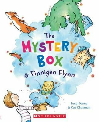 Cover of The Mystery Box and Finnigan Flynn