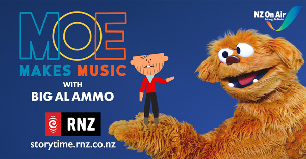 Cover of Ep 3 – Moe Makes Music with Big Al Ammo