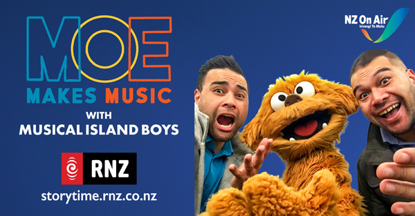 Cover of Ep 6 – Moe Makes music with Musical Island Boys