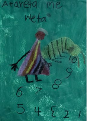 Cover of Atareta and the Weta