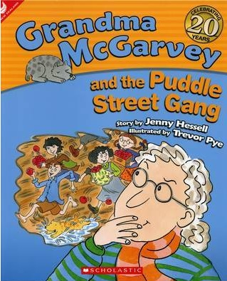 Cover of Grandma McGarvey and the Puddle Street Gang