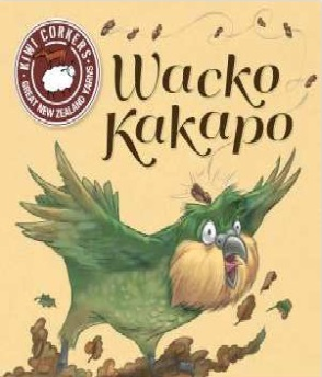 Cover of Whako Kakapo