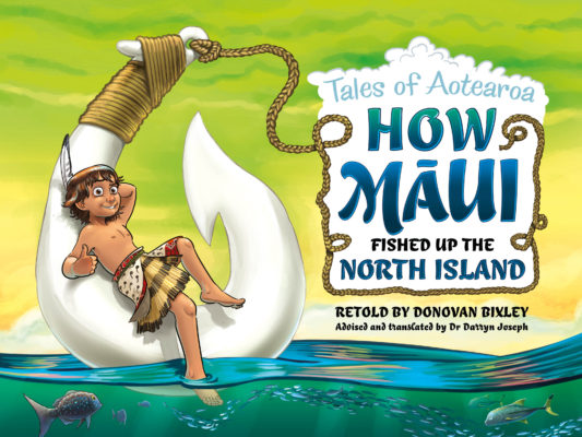 Cover of How Māui Fished Up the North Island