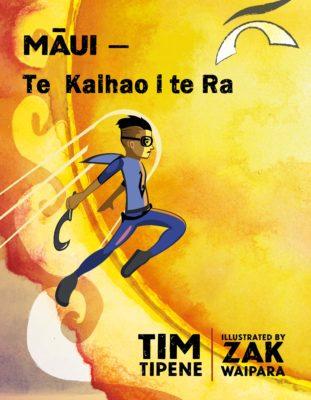 Cover of Māui – Te Kaihao i te Rā